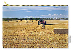 Carry-all Pouch featuring the photograph The Harvest by Keith Armstrong