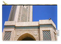 The Hassan II Mosque Grand Mosque With The Worlds Tallest 210m Minaret Sour Jdid Casablanca Morocco Carry-all Pouch