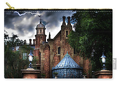 The Haunted Mansion Carry-all Pouch by Mark Andrew Thomas