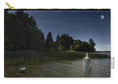 Carry-all Pouch featuring the photograph The Haunting by Belinda Greb