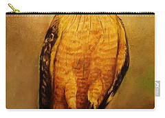 The Hawk Carry-all Pouch by Jean Cormier