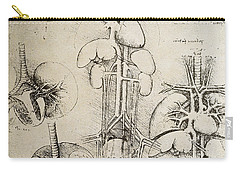 Nerves Drawings Carry-All Pouches