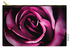 The Heart Of A Rose Carry-all Pouch