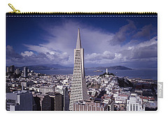 The Heart Of San Francisco Carry-all Pouch