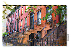 The Historic Brownstones Of Brooklyn Carry-all Pouch