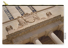 Carry-all Pouch featuring the photograph The Historical Federal Reserve Bank Of Dallas by Robert ONeil