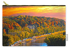The Hobo Train Up The Mississippi Carry-all Pouch