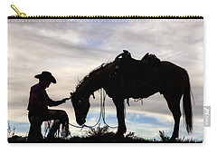 The Horse Whisperer 2013 Carry-all Pouch by Joan Davis