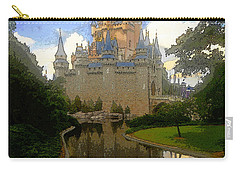 The House Of Cinderella Carry-all Pouch by David Lee Thompson