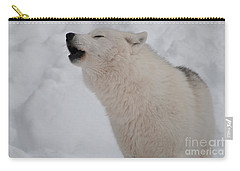 Carry-all Pouch featuring the photograph The Howler by Bianca Nadeau