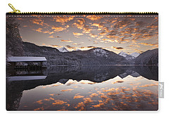 The Hut By The Lake Carry-all Pouch