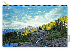 Carry-all Pouch featuring the photograph The Hut. by Eti Reid