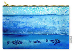 The Iceage Cometh No.2 Carry-all Pouch by Trudi Doyle