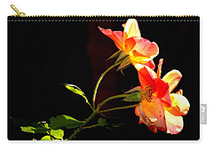 The Illuminated Rose Carry-all Pouch