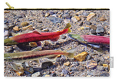 Carry-all Pouch featuring the photograph The Interloper by Jim Thompson