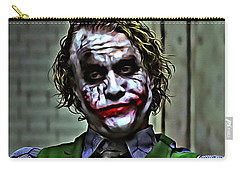 The Joker Carry-all Pouch by Florian Rodarte