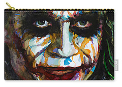 The Joker - Ledger Carry-all Pouch by Laur Iduc