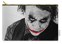 The Joker Carry-all Pouch by Robert Bateman