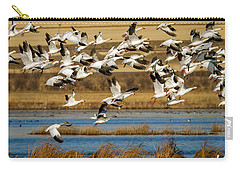 Carry-all Pouch featuring the photograph The Journey by Jack Bell