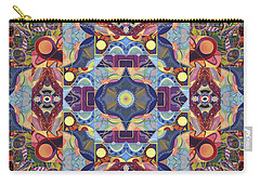 The Joy Of Design Mandala Series Puzzle 1 Arrangement 1 Carry-all Pouch