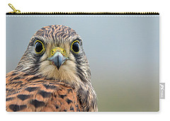 The Kestrel Face To Face Carry-all Pouch by Torbjorn Swenelius