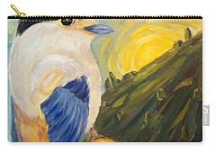 Carry-all Pouch featuring the painting The Key by Maria Langgle