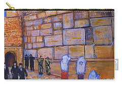 The Kotel Carry-all Pouch by Donna Dixon