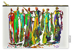 The Ladies Carry-all Pouch by Bernadette Krupa