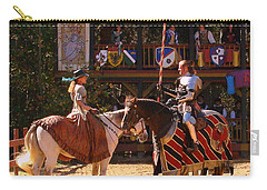 The Lady And The Knight Carry-all Pouch