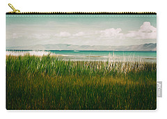 The Lake - Digital Oil Carry-all Pouch by Mary Machare