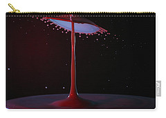 Carry-all Pouch featuring the photograph The Lamp by Kevin Desrosiers