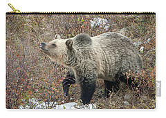 Carry-all Pouch featuring the photograph The Last Berry by Jack Bell