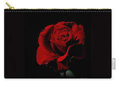 The Last Rose Of  Summer... Carry-all Pouch by Marija Djedovic
