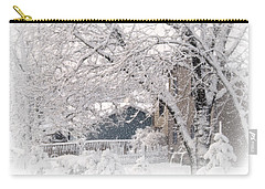 The Last Snow Storm Carry-all Pouch