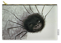 The Laughing Spider Carry-all Pouch by Odilon Redon