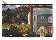 Carry-all Pouch featuring the painting The Light Over The Door by John Williams