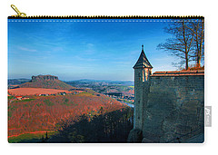 The Lilienstein Behind The Fortress Koenigstein Carry-all Pouch