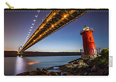 Carry-all Pouch featuring the photograph The Little Red Lighthouse by Mihai Andritoiu