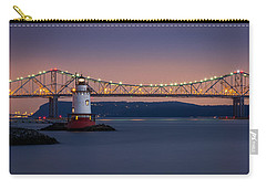 Carry-all Pouch featuring the photograph The Little White Lighthouse by Mihai Andritoiu