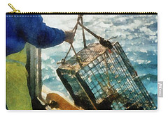 The Lobsterman Carry-all Pouch by Michelle Calkins