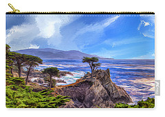 The Lone Cypress Carry-all Pouch by Dominic Piperata