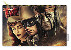 The Lone Ranger Carry-all Pouch by Movie Poster Prints