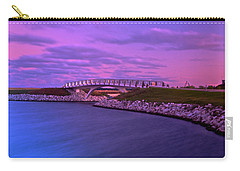 The Lonely Bridge Carry-all Pouch by Jonah  Anderson