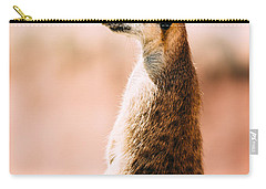 The Lonely Meerkat Carry-all Pouch by Pati Photography