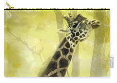 The Long Morning Stretch Carry-all Pouch by Diane Schuster