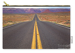 The Long Road Ahead Carry-all Pouch