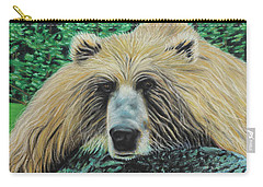 The Look Carry-all Pouch by Jeanne Fischer