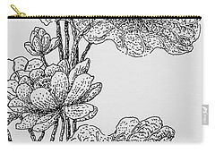 The Lotus Flower Carry-all Pouch