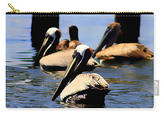 The Lovely Pelican  Carry-all Pouch