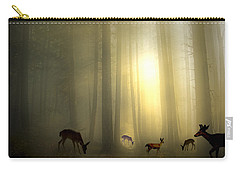 The Magic Of Sunrise Carry-all Pouch by Diane Schuster